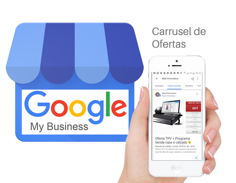 Crear ofertas en google my business